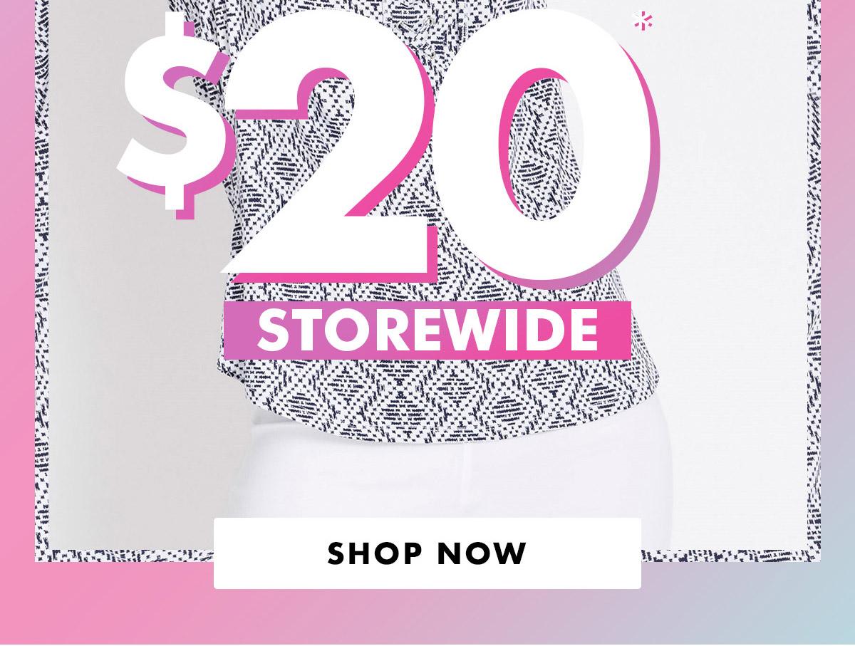 Rockmans $20 Storewide