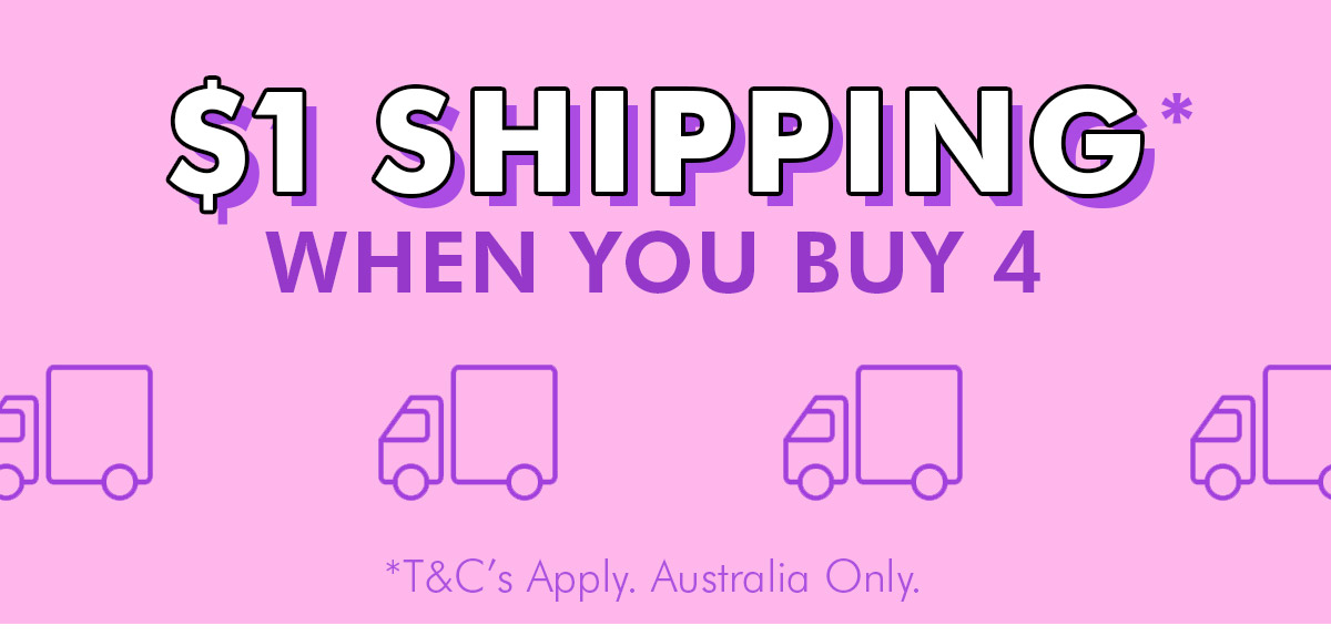 $1 Shipping When you spend $60